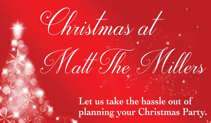 christmas parties kilkenny matt the millers xmas party packages
