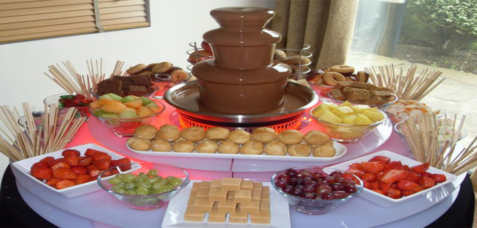 Have you tried our Chocolate Fountain?